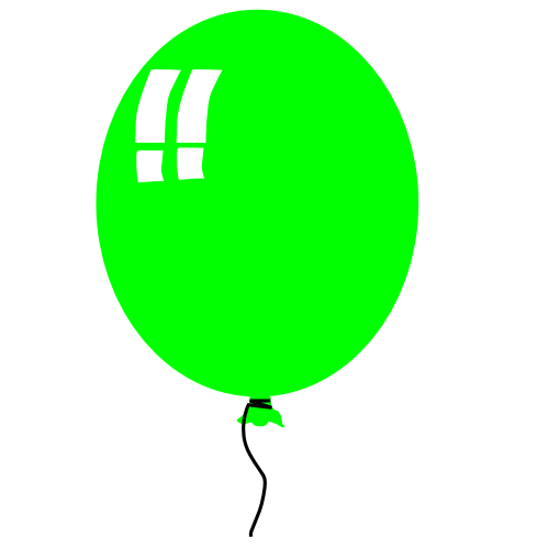 birthday balloons cartoon. Free Birthday Clipart