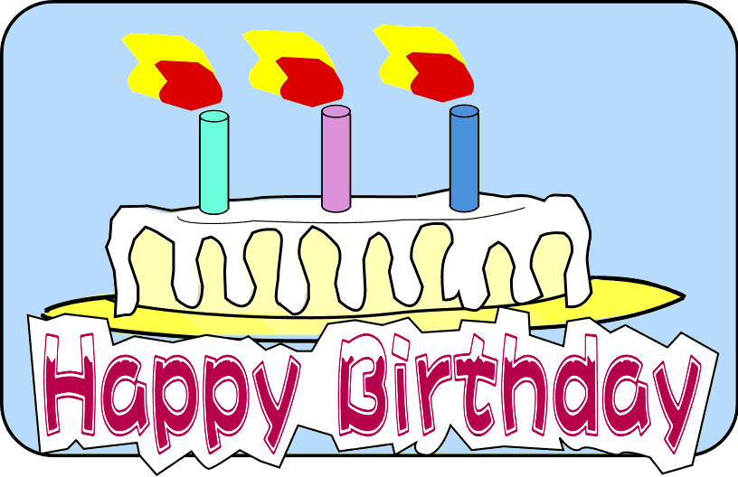 Free Birthday Celebration Clipart