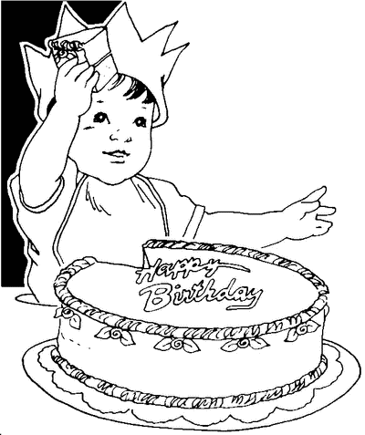 Free Birthday Cake Clipart