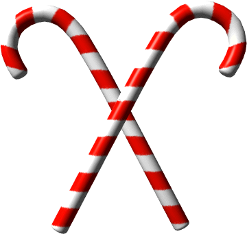 Free Candy Cane Clipart