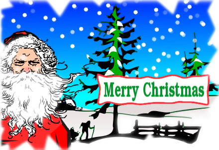 Free Christmas Greetings Clipart - Public Domain Christmas clip ...