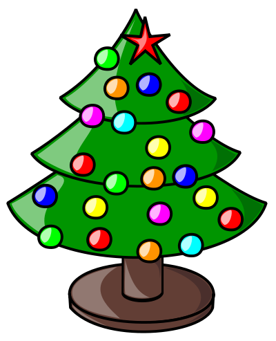 Free Christmas Tree Clipart