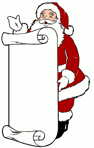 Terms  santa claus  santa claus  father christmas  animals  santaBlack Santa Claus Clipart