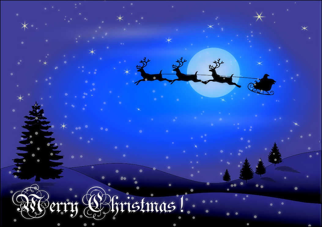 Free Christmas Greetings Clipart - Public Domain Christmas clip.