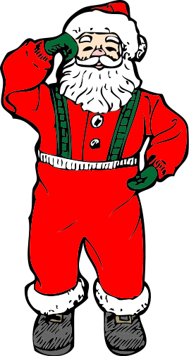 free clip art father christmas - photo #38