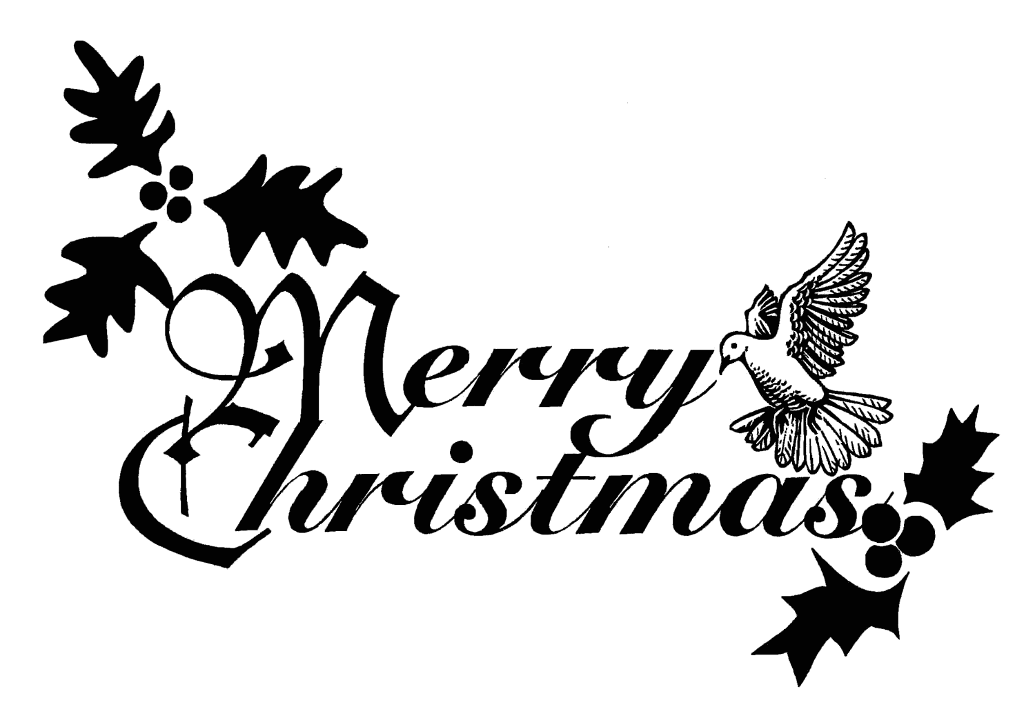Transparent clipart of a decoration sign saying Merry Christmas. , Click here to get more Free Clipart at ClipartPal.com