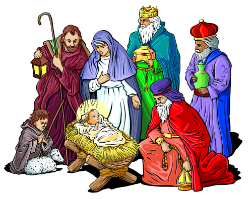 Image result for Nativity Scene Clip Art