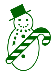 Free Green Christmas Clipart
