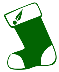 Free Christmas Stocking Clipart