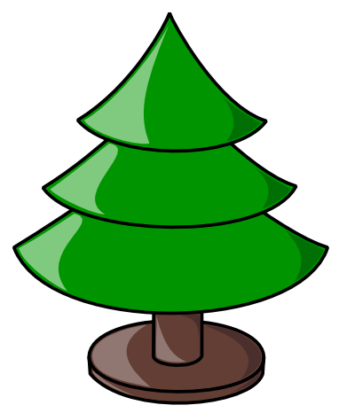 tree clip art. Free Christmas Tree Clipart