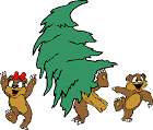 Free Christmas Animal Clipart