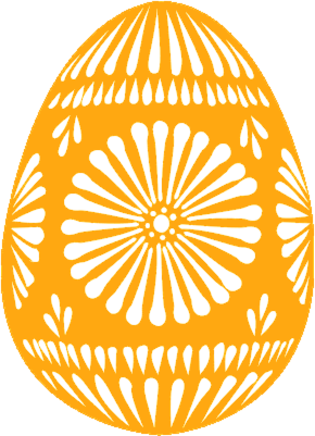 Free Decorated Easter Egg Clipart