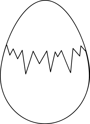 easter eggs colouring in. Free Easter Clipart