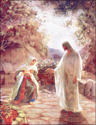 images of jesus christ with mary. Search Terms: christ, easter, jesus, jesus appears, Jesus Christ,