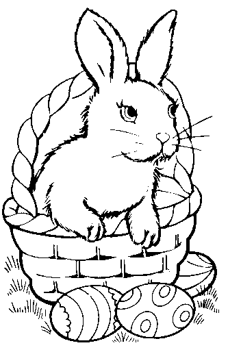 Free Easter Basket Clipart