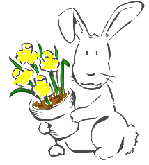 Free Easter Cottontail Clipart