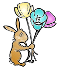 Free Easter Flower Clipart