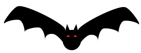 free halloween decorations clipart - Bat Halloween Decorations