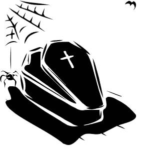 Free Coffin Clipart