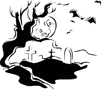 Free Halloween Trees Clipart