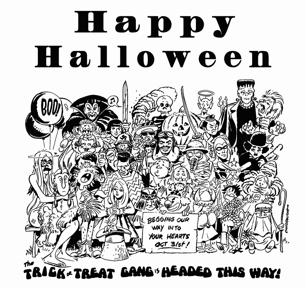 Free All Hallows Eve Clipart