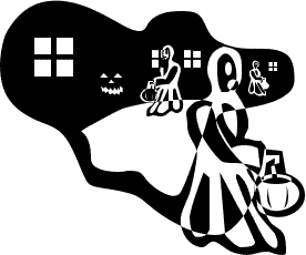 Free Trick Or Treat Clipart