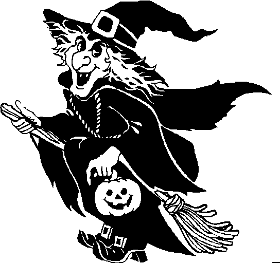 Free Witch Clipart