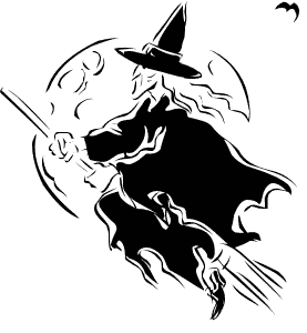 Free Witching Hour Clipart