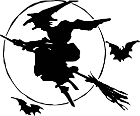 Free Witches Broom Clipart
