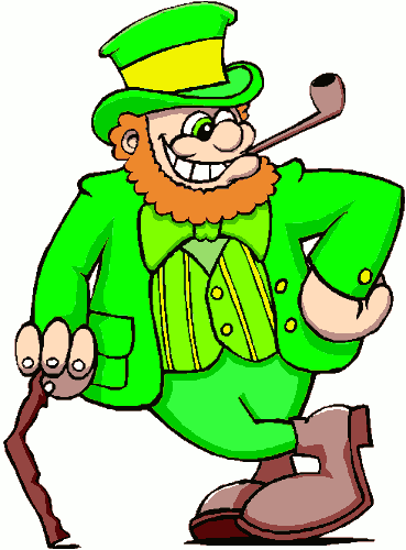 Free Leprechaun Pipe Clipart