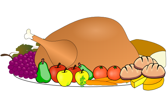 Free Roast Turkey Clipart