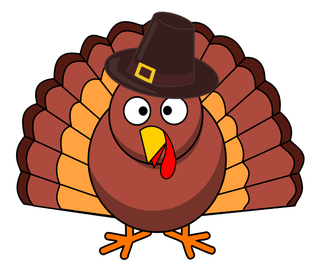 Free Worried Turkey Clipart