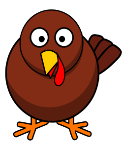 Free Young Turkey Clipart
