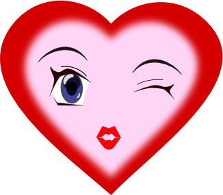Free Heart Faces Clipart