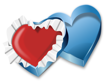 Free Valentine Gifts Clipart, 1 page of Public Domain Clip Art