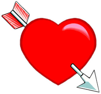 Free Broken Hearts Clipart, 1 page of Public Domain Clip Art