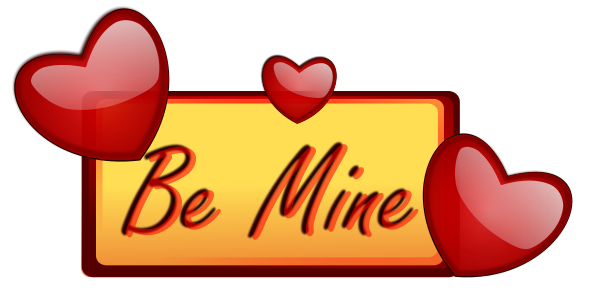 Free Valentine Card Clipart, 1 page of Public Domain Clip Art