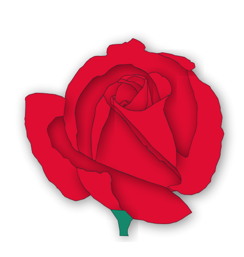 Free Valentine Flowers Clipart, 1 page of Public Domain Clip Art