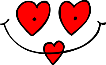 Free Valentine Faces Clipart