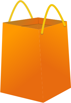 Free Paper Bag Clipart
