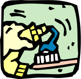 Free Toothbrush Clipart