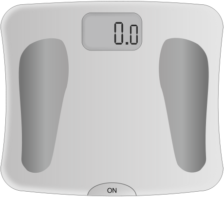 Free Bathroom Scale Clipart