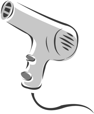 Free Hair Dryer Clipart