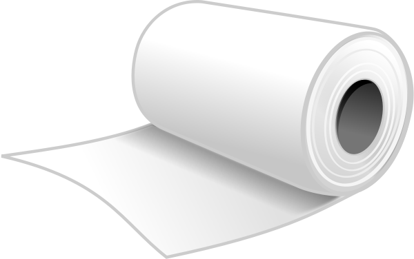 Free Toilet Paper Clipart