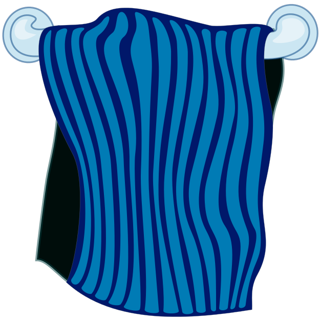Free Towel Clipart