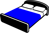 Free Double bed Clipart
