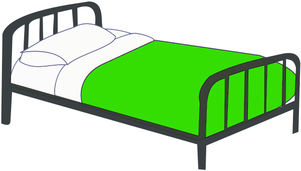 Free Twin Bed Clipart 1 Page Of Public Domain Clip Art