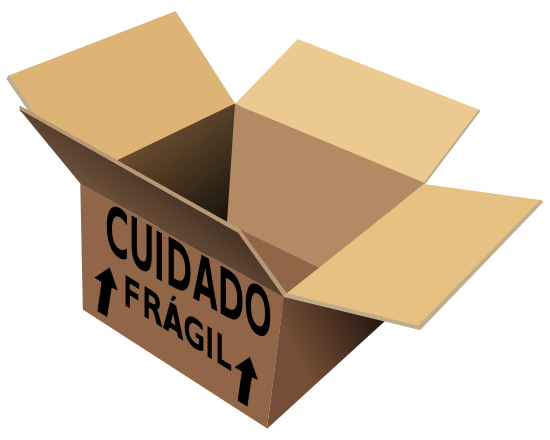 Free Fragile Box Clipart