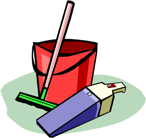 Free Cleaning Tools Clipart
