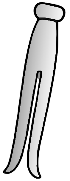 Free Clothespin Clipart